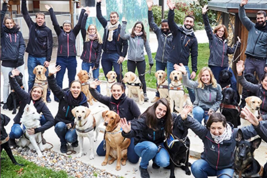 Chiens Guide Paris, une association qui a du chien!
