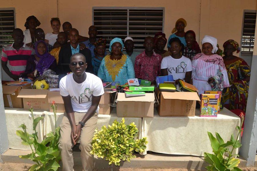 Ginini antipode solidarité soutient l'association Xaleyi