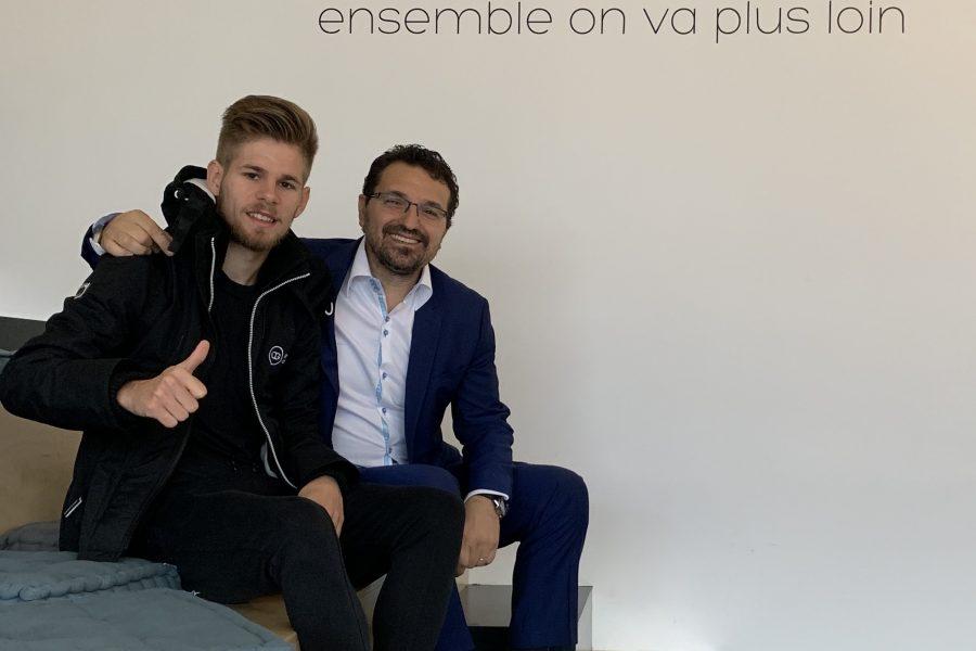 Ginini antipode est fier d'annoncer son partenariat sportif avec Jimmy Gressier, grand espoir de l'athlétisme français.