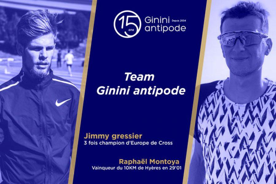 Jimmy et Raphaël, un beau cadeau pour les 15 ans de Ginini antipode